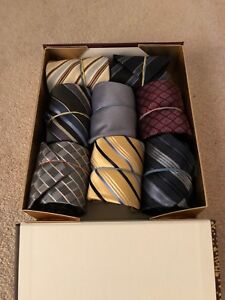 Banana republic silk ties (x 8)