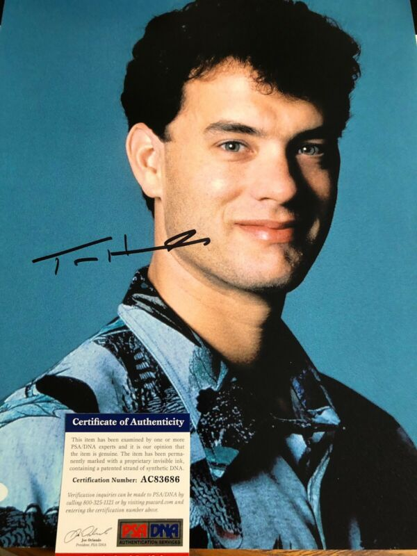 Autographed Tom Hanks 11x14 Photo PSA Certified Signed Big Movie