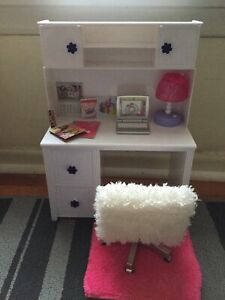 """""""My Life As"""" brand desk set for American Girl type dolls"""