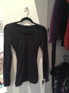 Metalicus basic LS black shirt - barely worn Waverton North Sydney Area Preview