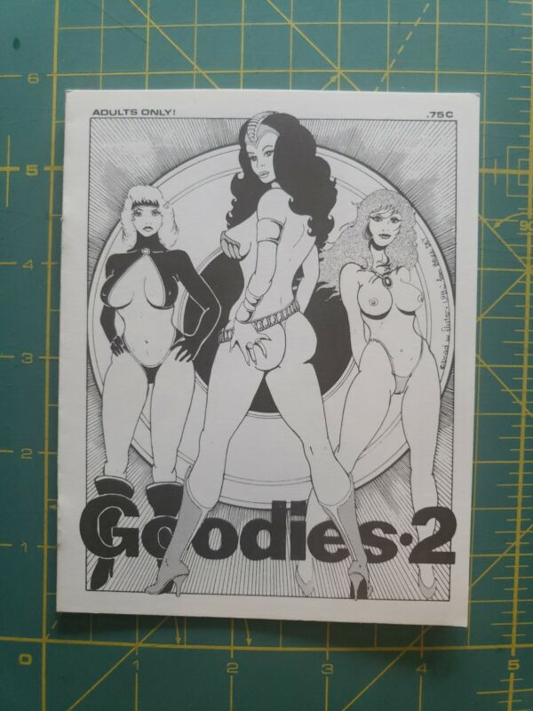 Goodies #2 Brad Foster 1982 Underground comic
