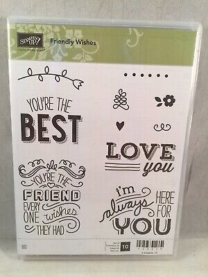 FRIENDLY WISHES Stampin Up New You're The Best Here For You Love You