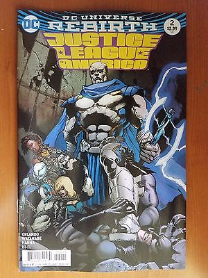 Justice League of America # 2 DC Rebirth (1st Print) Variant