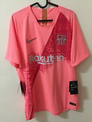 #Leo Messi 10 #Macht Worn #Player Issue #Vaporknit.3 Equipacion 2018.Color Rosa