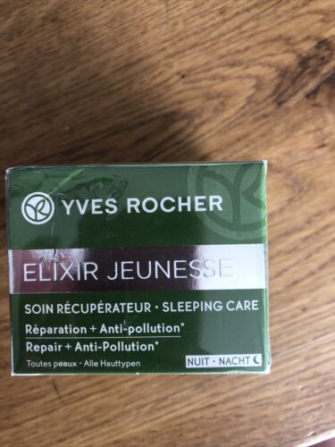Yves rocher elixir jeunesse 50 ml ReparationAnti-pollution NeuOVP Nachtpflege