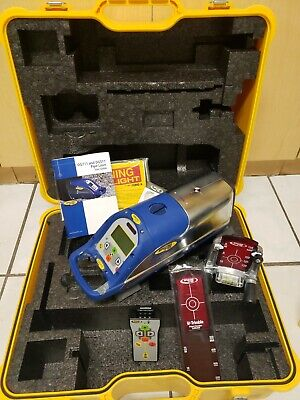 Trimble Spectra Precision Dg711 Pipe Laser Kit W Battery Remote