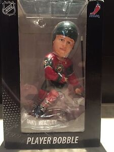 Official NHL Dany Heatley Player Bobble Head Figurine