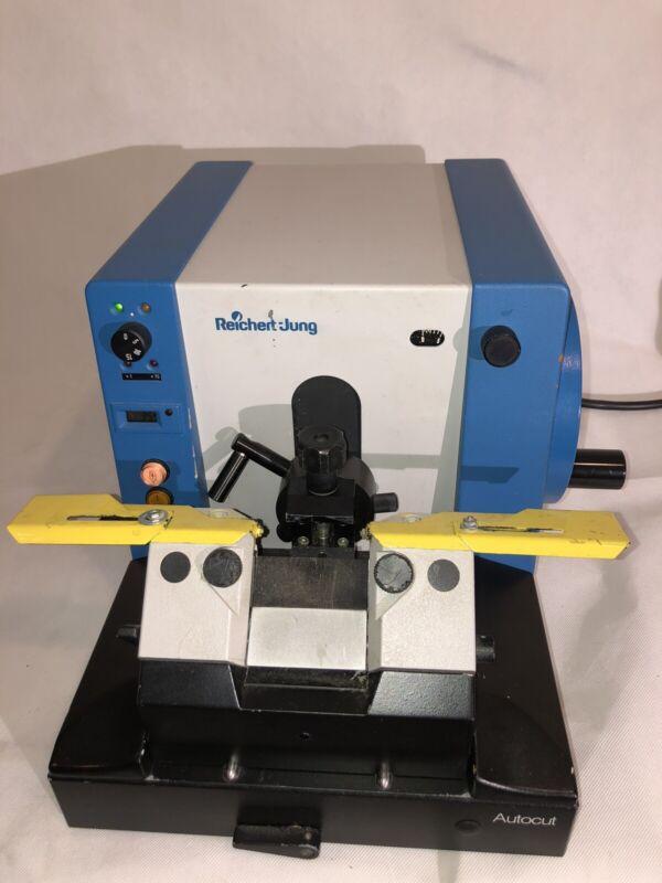 Leica Reichert-Jung 2040 Biocut Microtome AutoCut Knife Holder 5 DDK Knives