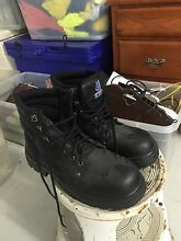 "Steel cap work boots ""steel blue"" size 9 &1/2 Kingscliff Tweed Heads Area Preview"