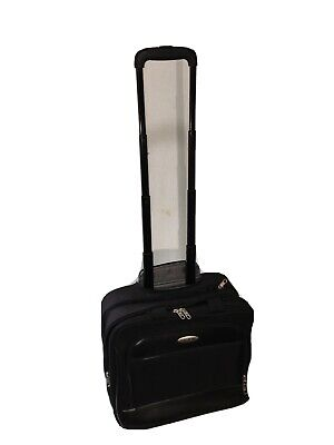 SAMSONITE Carry On Rolling Suitcase Business Briefcase Bag/Laptop