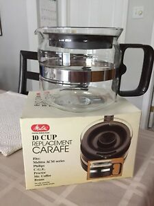 Melitta  10 cup Replacement Carafe.... New In Box !