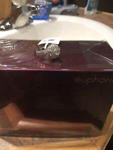 Diamond cluster ring size 8