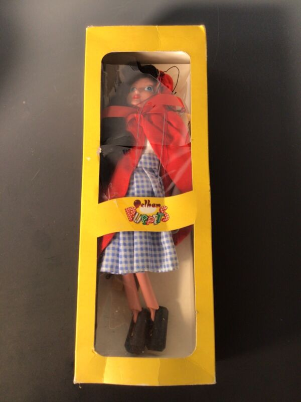 Vintage Pelham Marionette Puppet Little Red Riding Hood in Original Box Mint