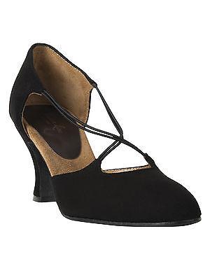 Tanzschuhe Damen Latein Standard Pumps Tanz Schuhe Rumpf Premium Line 9112 black