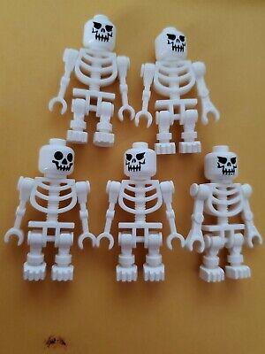 Lego Minifigures Skeletons Castle Pirate Halloween Monster Ninjago 5 count lot