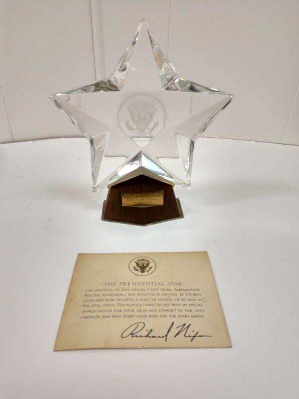 Richard Nixon Presidential Star 1972