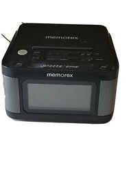 Memorex MC8431 Alarm Clock Radio with 1.2 LCD display Tested Works 100% EUC