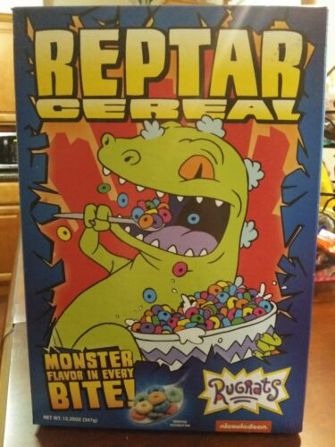 Collectable Reptar Cereal unopened box
