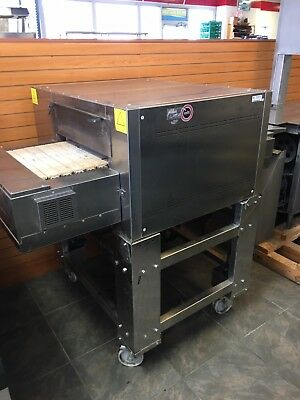 Used Italforni Tsa Stone Conveyor Electric Pizza Oven Up To 850 Degrees