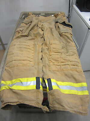Size 44 X 34 Morning Pride Fire Fighter Turnout Pants G To Vg