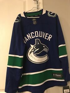 NHL licensed Vancouver jersey