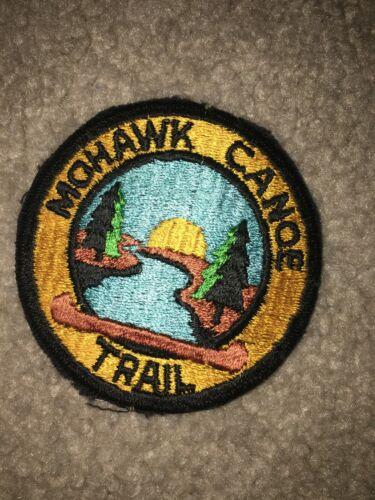 Boy Scout BSA Mohawk Camp River Canoe Charlemont, Massachusetts Trail Patch