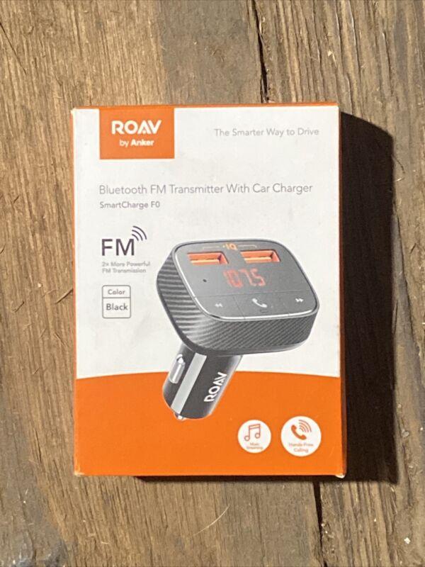 ROAV AK-848061054736 SmartCharge F0 by Anker Bluetooth FM Transmitter