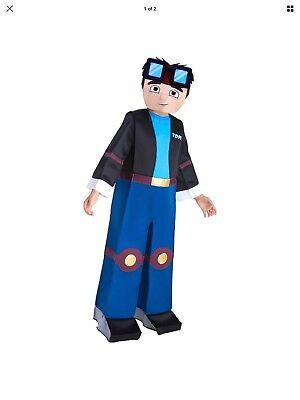 TDM Dan U Tuber Tube Heroes Gaming Halloween Costume - Sz S (4-6)- NO MASK - NEW