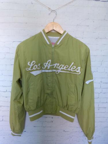Los Angeles Baseball Bomber Womens Jacket Coat Size L