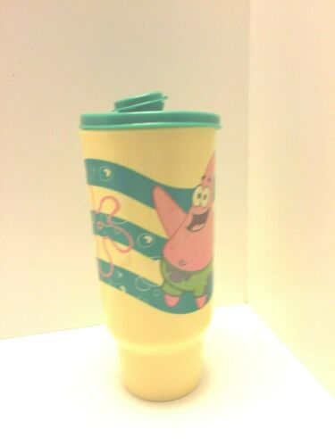 New Tupperware kids sponge bob large tumbler