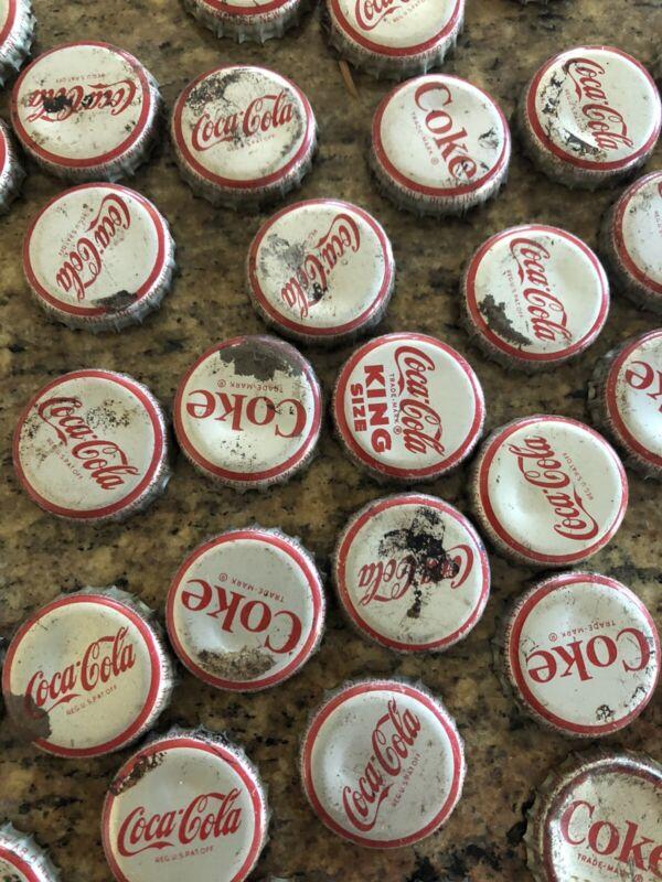 Coca Cola Cork Caps Bottle Cap Lot Collection of Old Bottle Caps