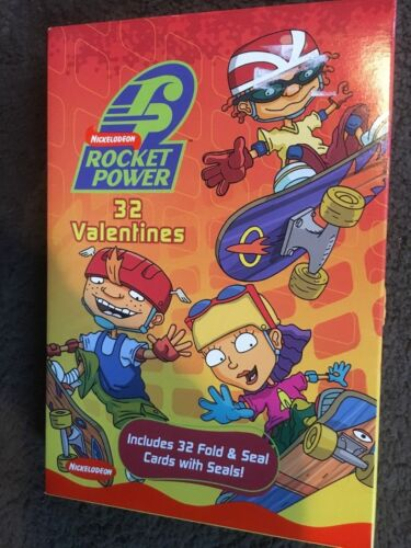 Rocket Power 32 Valentines Card 8 Designs 2002 Nickelodeon NP