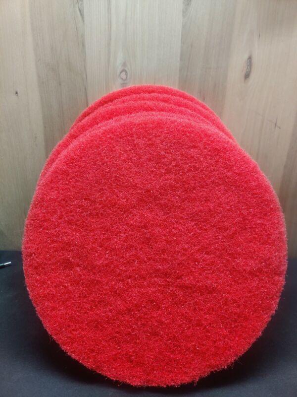 """ACS 5-PACK  Red Buffer Pa, 14"""" Floor Buffer, Machine 355.6 MM"""