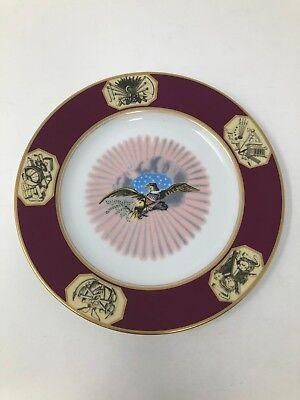 Woodmere White House James Monroe Dessert Plate