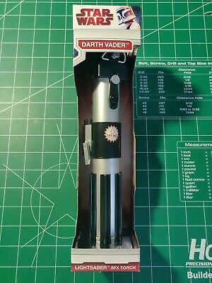 Star Wars Darth Vader Lightsaber Torch Sound SFX Flashlight (2009)