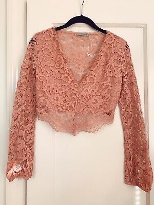 NEW Zara Lace Top