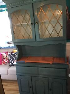Soft jade office cabinet-   Desk also available