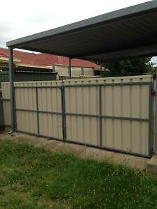 Large colourbond gates and side gate with latch Gilles Plains Port Adelaide Area Preview