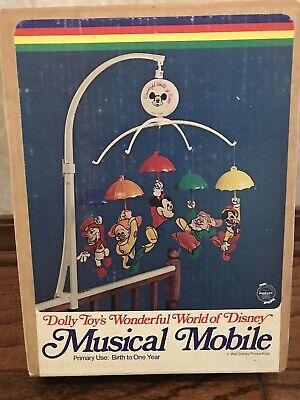 Dolly Toys Wonderful World of Disney Musical Mobile