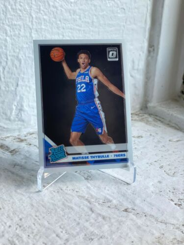 2019-20 PANINI DONRUSS OPTIC PHILADELPHIA 76ERS MATISSE THYBULLE RC ROOKIE 192