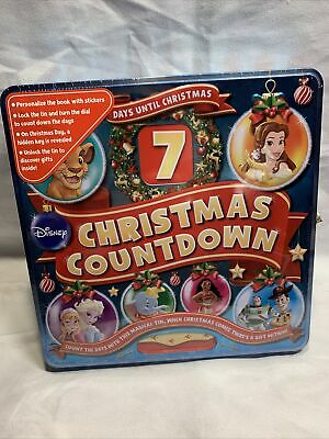 DISNEY 7 DAYS UNTIL CHRISTMAS CHRISTMAS COUNTDOWN TOY-STORY FROZEN NEW W4