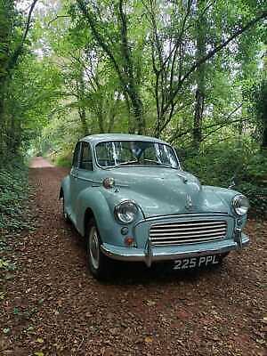 Morris Minor 1963 transferable number plate