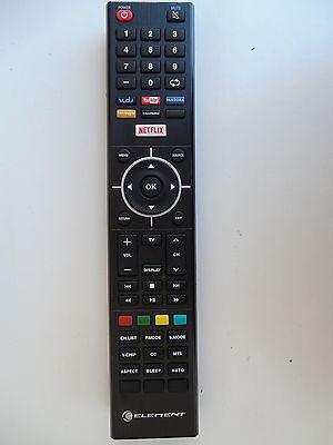 ELEMENT  ELSF502 TV REMOTE CONTROL ORIGINAL NETFLIX YOUTUBE VUDU PANDORA