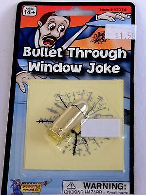 Trick Or Treat Jokes Halloween (Forum Costume Co Fake Bullet & Bullet Hole Joke Prank Halloween Trick Or Treat)