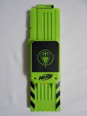 Nerf N-Strike Elite 18 Round Clip Green Firefly Magazine Lights Up