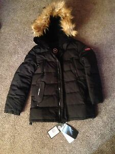 2, identical Canadian goose down coats