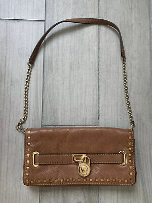 Michael Kors purse straps brown and gold, (Kors Discount)
