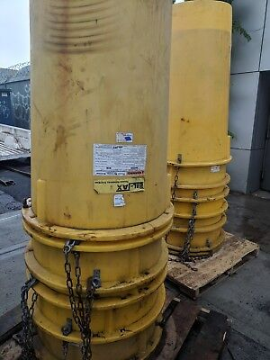Bil Jax Trash Removal Chute System - 100ft - Yellow - Great Condition - Cheap!