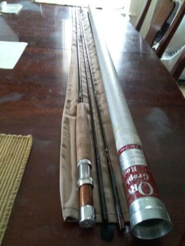Orvis Powerhouse Fly Rod. 8.5 feet, 2 7/8oz., 8 wt. With spare tip