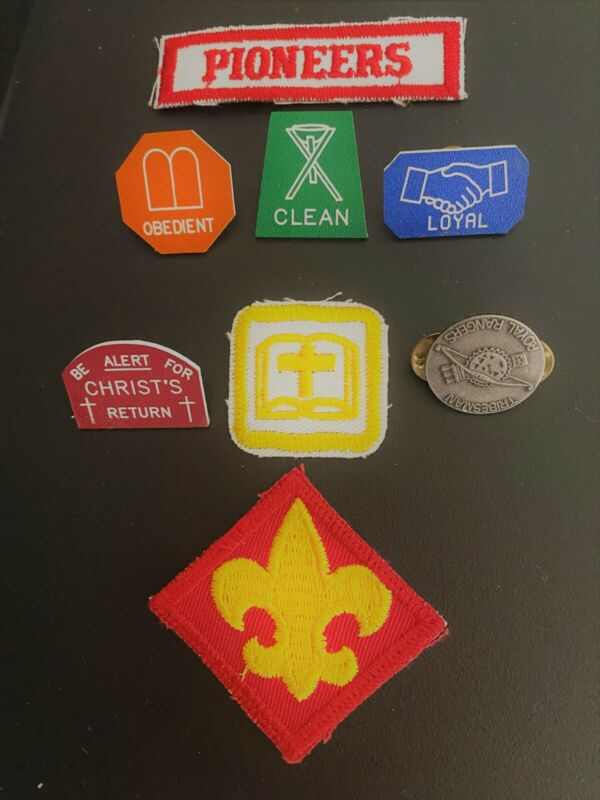 Royal Ranger lot: patches, pins including Tribesman